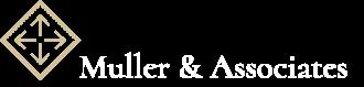 Muller & Associates Logo - White